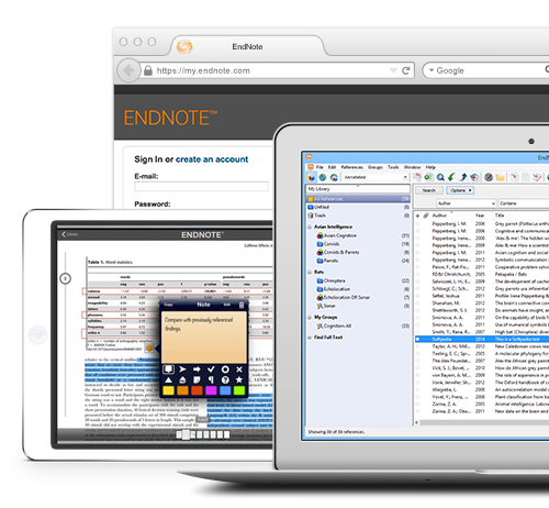 how to sync iphone and ipad endnote thomson reuters 19122