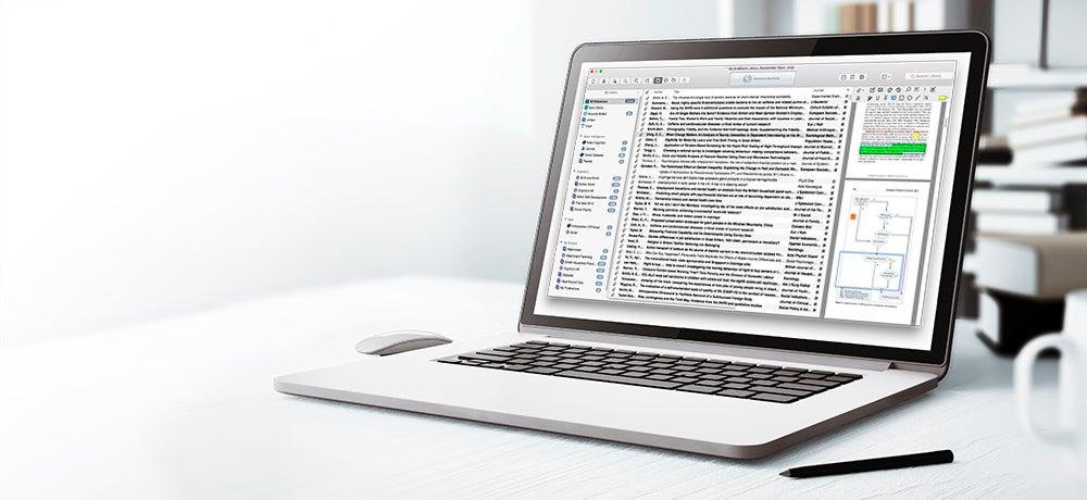 EndNote X8.1 for Mac 11010 序号版 - Mac上优秀的参考文献管理和写作软件